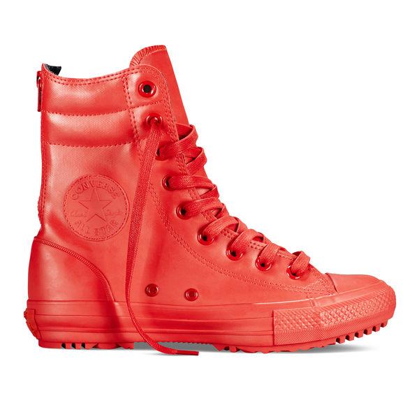 【GT】Converse Hi-Rise Boot Rubber 紅 女鞋 高筒 皮革 雨鞋 雨靴 短靴 靴子 現貨 休閒鞋 549592C