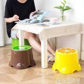 成人兒童小矮凳加厚凳子家用防滑座椅寶寶椅子換鞋凳墊腳凳塑料凳 NMS造物空間