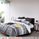 ☆MIT吸濕排汗法式柔滑天絲☆ 雙人特大7尺薄床包兩用被(加高35CM)台灣製作《絲幕》