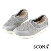 SCONA 樂活輕量舒適休閒鞋 灰色 7239-2