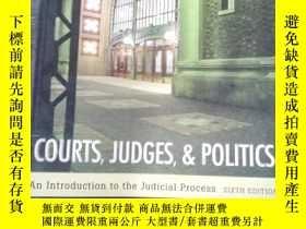 二手書博民逛書店Courts,罕見Judges, and PoliticsY15