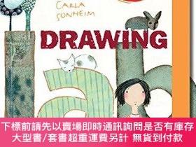 二手書博民逛書店Drawing罕見Lab Art Pack: A Fun, Creative Exercise Book & Sk