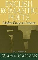 二手書博民逛書店《English Romantic Poets: Modern Essays in Criticism》 R2Y ISBN:0195019466