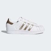 Adidas Originals Superstar W [CG5463] 女鞋 運動 休閒 白 金 愛迪達