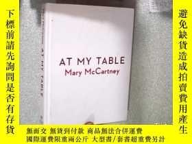 二手書博民逛書店AT罕見MY TABLE 在我的桌子旁 16開Y261116