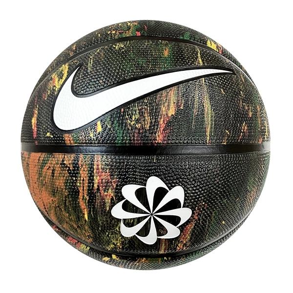Nike Revival Dominate 8P [N100247797307] 籃球 7號 掌控 環保 室外 潑墨 黑