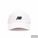 NEW BALANCE 運動帽 遮陽 防曬 白-LAH91014WT
