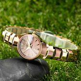 手錶韓版簡約學生女錶機械女士手錶女防水夜光鎢鋼全自動時尚潮流igo 貝芙莉女鞋