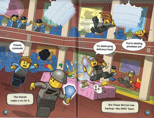 LEGO CITY (樂高城市):DETECTIVE CHASE MCCAIN: STOP THAT HEIST!
