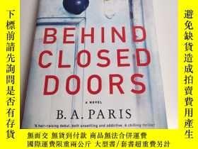 二手書博民逛書店BEHIND罕見CLOSED DOORS(在關閉門的石面)Y24