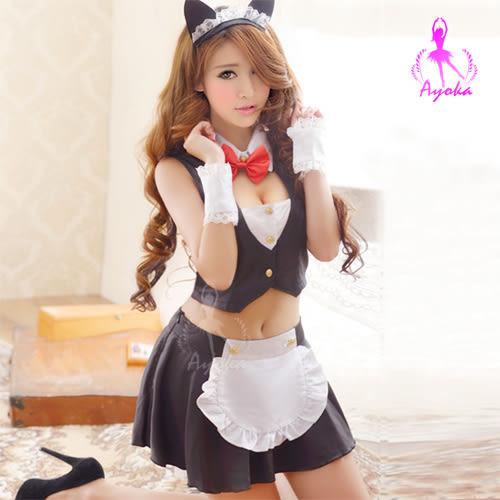 性感小喵!五件式貓女角色服  (OS小舖)