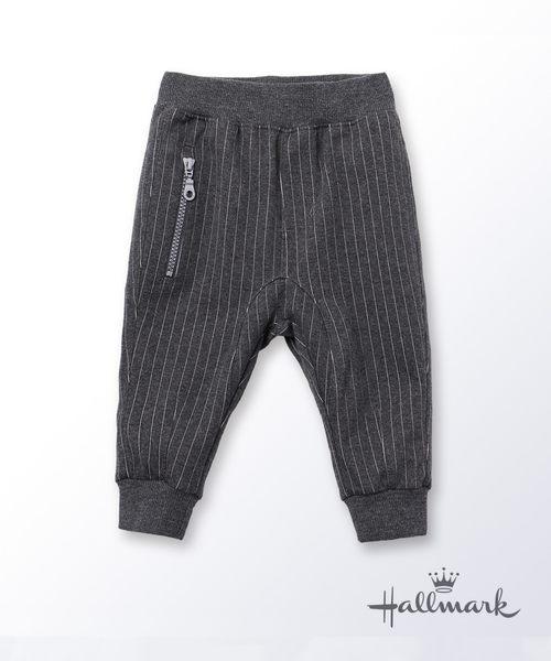 Hallmark Babies快樂上學去男童直條紋闊襠長褲 HG3-R01-14-KB-NG
