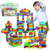 兒童顆粒塑料拼搭積木3-8幼兒園早教益智拼搭玩具積木3-6周歲玩具【618好康又一發】