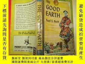二手書博民逛書店(外文版)THE罕見GOOD EARTH (1945年印刷)Y14023 PEARL.S.BUCK 出版1