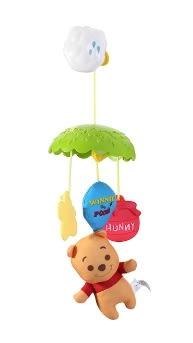 【ViVibaby】迪士尼小熊維尼蜂蜜吊飾  DST42508