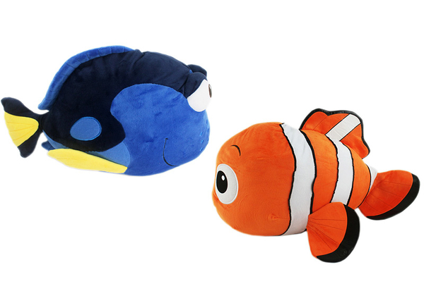 【卡漫城】 海底總動員 抱枕 38cm 剩 多莉 ㊣版 玩偶 絨毛娃娃 午安枕 靠墊 Finding Dory