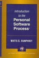 二手書博民逛書店《Introduction to the Personal Software Process》 R2Y ISBN:0201548097