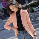 仿皮個性風西裝型休閒外套[20S250-PF]美之札