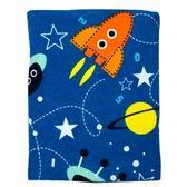 太空任務印花大浴巾