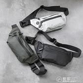 防水腰包男士個性胸包休閒戶外運動斜背包/側背包時尚韓版潮流死飛騎行包 電購3C