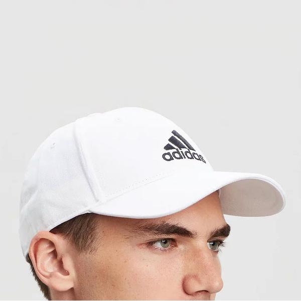 J-adidas Baseball Cap 白 黑 男女款 老帽 棒球帽 運動休閒 帽子 FK0890