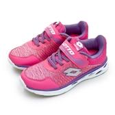LIKA夢 LOTTO 21cm-24.5cm微重力輕量跑鞋 SUPERLIGHT ZERO系列 桃紫 6353 大童