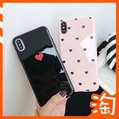 日韓卡通OPPO R15 R17 PRO R9 R9S R11S PLUS A3 AX5手機 粉色愛心全包邊保護殼亮面款