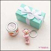 Double Love Tiffany盒裝 達菲 雪莉玫 史黛拉兔 鑰匙圈+果醬小禮盒 遊戲抽獎 Tiptree