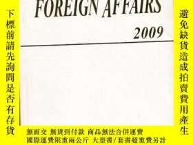二手書博民逛書店CHINA S罕見FOREIGN AFFAIRS 2009【英