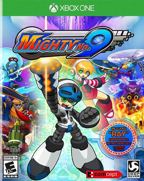 X1 Mighty No. 9 麥提 9 號(美版代購)