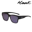 HAWK 新型薄框偏光太陽眼鏡套鏡(2用)HK1027A-BR1