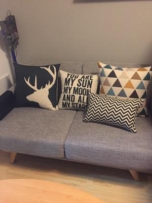 時尚簡約北歐抱枕 靠墊 沙發裝飾靠枕1 (二入)