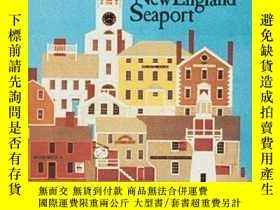 二手書博民逛書店An罕見Early New England SeaportY34