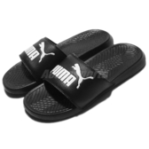 Puma 拖鞋 Popcat 黑 白 基本款 涼拖鞋 男鞋 女鞋【PUMP306】 36026510