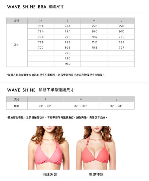 比基尼 一代 雙綁帶美波比基尼.(台灣製)【LWA038】.WAVE SHINE