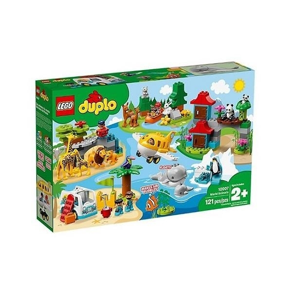 【南紡購物中心】【LEGO 樂高積木】得寶 Duplo系列-動物世界(121pcs)10907