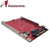 Awesome M.2 SSD 轉 U.2 2.5 吋 NVMe SSD 轉接盒AWD-DT-132