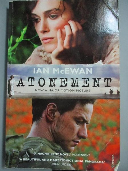 【書寶二手書T8/原文小說_FQF】Atonement_Ian McEwan