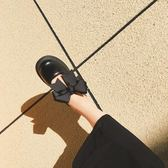 日系原宿學院軟妹Lolita鬆糕厚底鞋圓頭蝴蝶結娃娃鞋少女小皮鞋 挪威森林