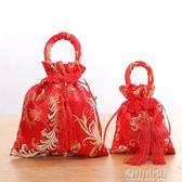 婚慶用品糖果袋布袋創意喜糖盒子個性結婚回禮喜糖袋子YYJ 青山市集