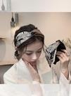 髮箍 韓國復古髮卡髮箍女百搭甜美外出網紅頭飾品寬邊防滑優雅壓髮頭箍 智慧 618狂歡