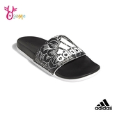 adidas拖鞋 男女拖鞋 ADILETTE COMFORT 防水快乾拖鞋 運動拖鞋 室內室外拖鞋 情侶鞋 S9378#黑色◆奧森
