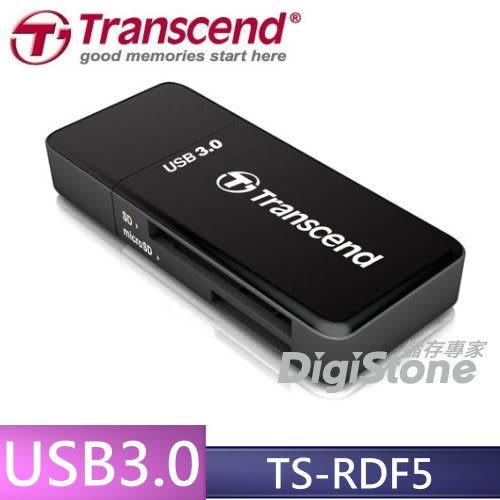 【免運費+贈SD記憶卡收納盒】創見 F5 TS-RDF5K USB3.0 多功能讀卡機(黑色)X1◆最大支援 UHS-1 128G◆