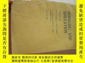 二手書博民逛書店MODELING罕見AND SIMULATION VOL.138