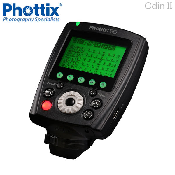 EGE 一番購】Phottix 二代 Odin II【一對一套組】for CANON 無線TTL閃燈觸發器【公司貨】