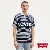 Levis 男款 橄欖球T / 字母Logo