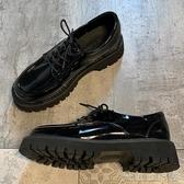 樂福鞋 單鞋女2020夏季新款英倫風小皮鞋學院風休閒低跟圓頭低跟樂福鞋潮 俏俏家居