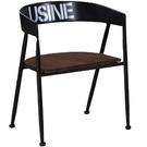 餐椅 SB-423-12 美式仿舊胡桃餐椅 【大眾家居舘】
