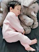 嬰兒保暖衣套裝嬰兒秋冬季套裝加厚保暖寶寶女內衣0-1歲3純棉衣服新生幼兒童夾棉伊芙莎