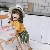 造型帽兒童夏季透氣網眼草帽兒童女少談毛涼帽防曬帽造型 嬡孕哺